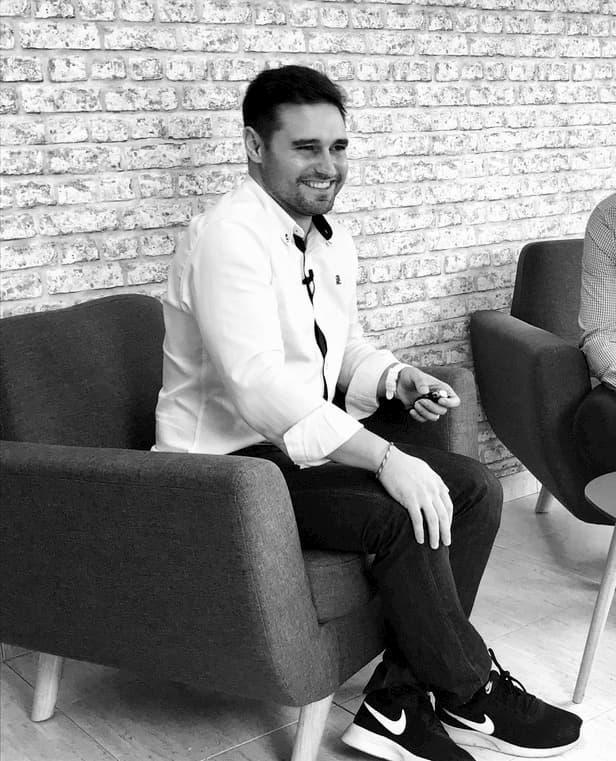 Xavi en una entrevista