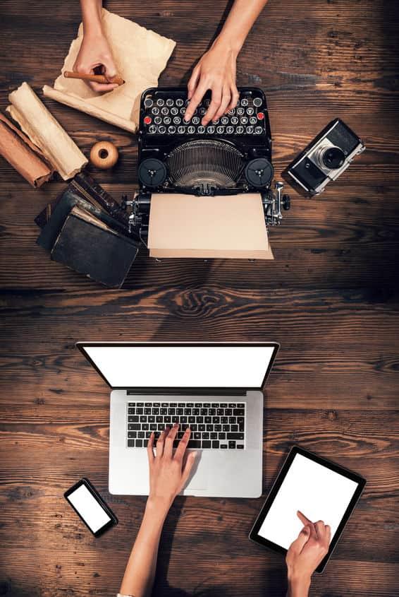 Convivencia entre lo digital y lo analógico